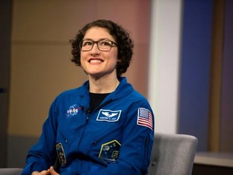 """Après 11 mois dans l'espace, Christina Koch raconte: """"C'est un marathon, pas un sprint"""""""
