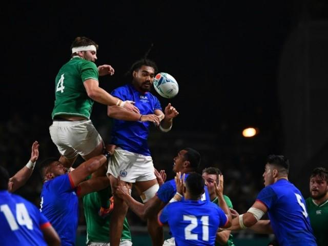 Mondial de rugby: l'Irlande 7e qualifiée pour les quarts de finale
