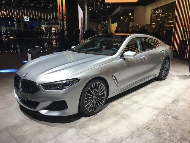 BMW Série 8 Gran Coupé : coupé d'affaire - En direct du salon de Francfort 2019