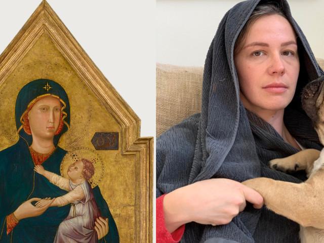 [Zone 42] Ce musée californien demande à ses visiteurs confinés de recréer des tableaux célèbres avec des objets du quotidien !