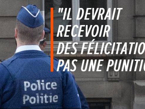 Un policier SANCTIONNÉ parce qu'il a tiré un coup de semonce alors qu'il était attaqué: la police de la route menace de faire grève