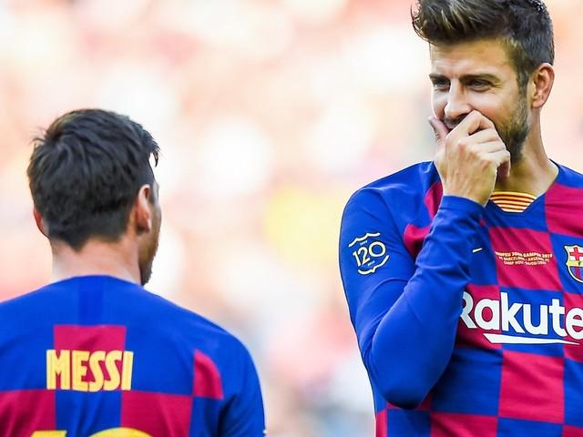 Mercato - Barcelone : Gerard Piqué très serein pour l'avenir de Lionel Messi !