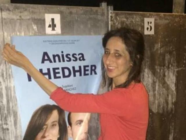 La franco-tunisienne Anissa Khedher, candidate favorite pour devenir députée du Rhône