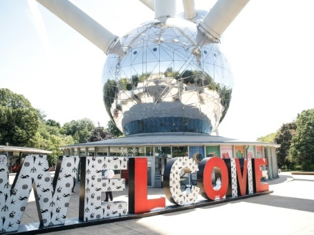 L'Atomium, symbole belge d'un tourisme secoué par le coronavirus