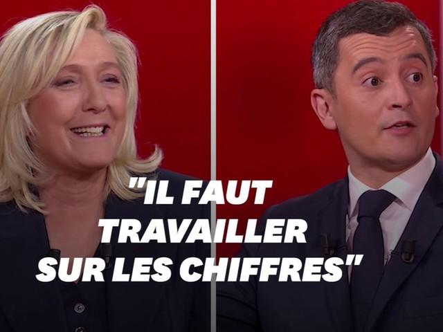 Gérald Darmanin conseille Marine Le Pen pour la prochaine présidentielle