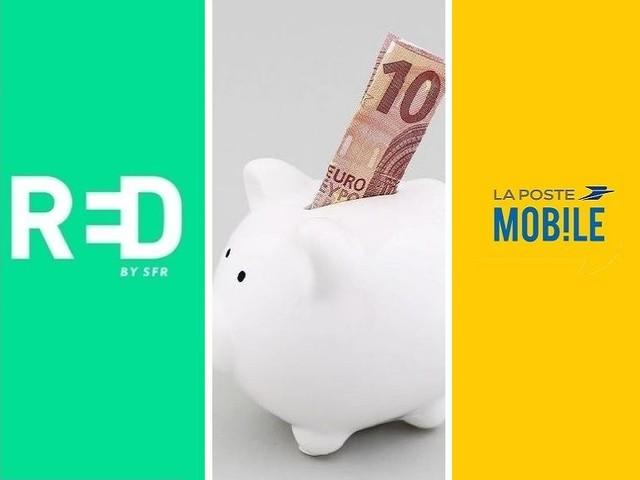 RED by SFR ou La Poste Mobile : quelle est la meilleure promo forfait mobile de la semaine ?