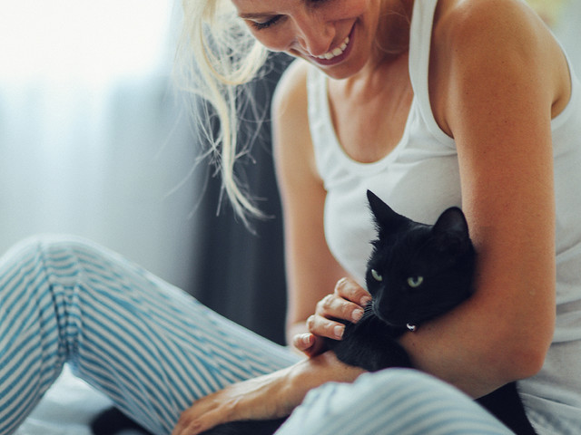 C'est mon histoire : « Un petit chat m'a rendue zinzin »