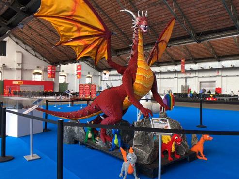 """Un """"monde des merveilles"""" en Lego: l'exposition """"Bricklive"""" revient à Bruxelles, 2 fois plus grande que la dernière fois"""