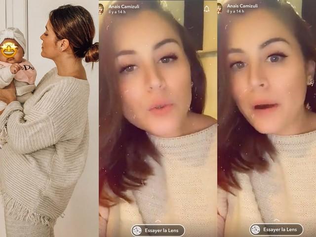 Anaïs Camizuli enceinte de son deuxième enfant ? Elle met fin aux rumeurs !