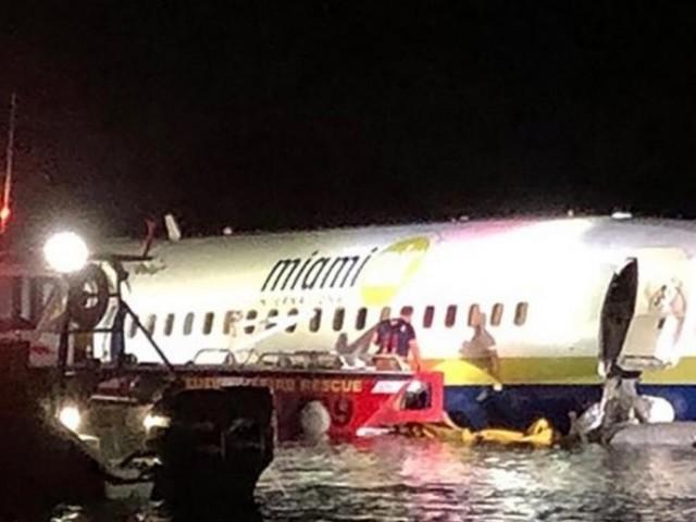 Un un avion rate son atterrissage et se retrouve dans une rivière, en Floride