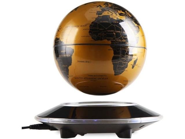 Ajoutez une touche d'originalité à votre intérieur grâce à ce globe terrestre en lévitation