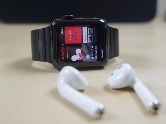 Les Apple Watch, AirPods et casques Beats toujours premiers des ventes