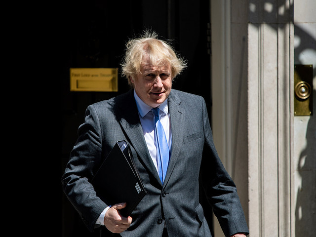 La gestion de la crise du coronavirus par Boris Johnson va être adaptée en série