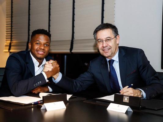 FC Barcelone – Le Barça blinde la clause libératoire d'Ansu Fati