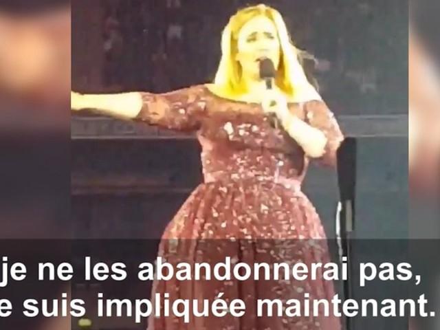 Adele appelle aux dons et dédie une chanson aux victimes de la Grenfell Tower