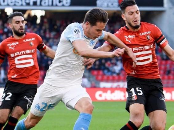L1 : Rennes stoppe la série de victoires de l'OM