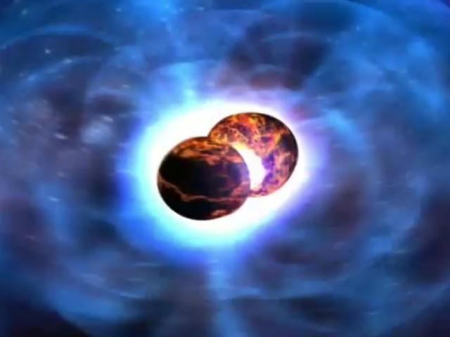 Une incroyable fusion d'étoiles à neutrons observée pour la première fois