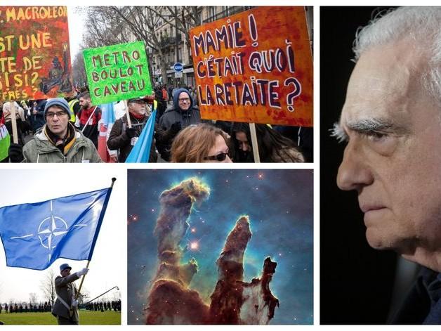 Grève générale, OTAN, poétique de l'univers et Scorsese : la Session de rattrapage