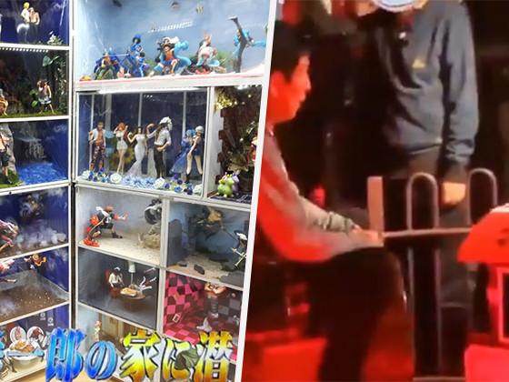 [Zone 42] Train miniature, statues grandeur nature, salle remplie de figurines, Eiichirō Oda ouvre les portes de chez lui