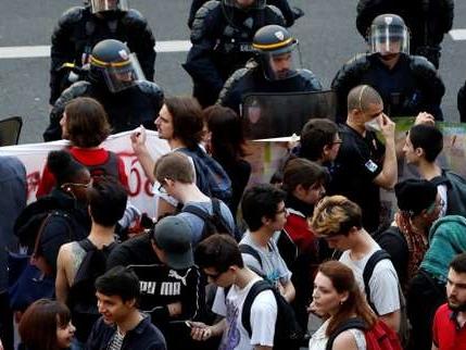 Devant Tolbiac évacué: «Notre bastion est tombé, maintenant il faut agir»