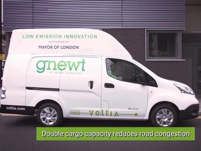 VUL électrique : Voltia invente le Nissan e-NV200 Maxi (+ vidéo)
