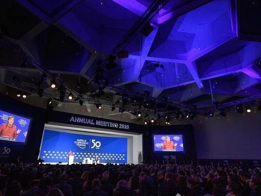 Le Forum économique mondial revient à Davos en 2022