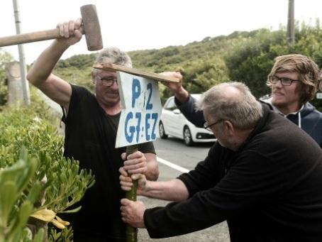G7 de Biarritz : les premiers opposants plantent leurs tentes