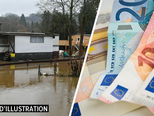 """Toujours pas de prêt sans intérêt de 2.500€ pour Patrick, victime des inondations à Hotton: il vit dans sa caravane """"dans des conditions pas possibles"""""""