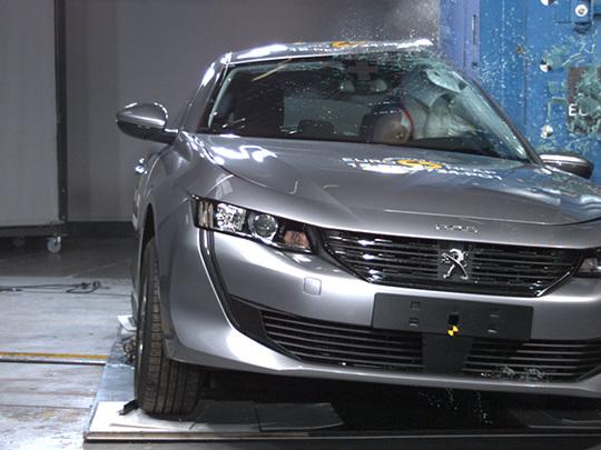 Peugeot 508 : 5 étoiles aux tests Euro NCAP, très bonne protection des adultes et des enfants