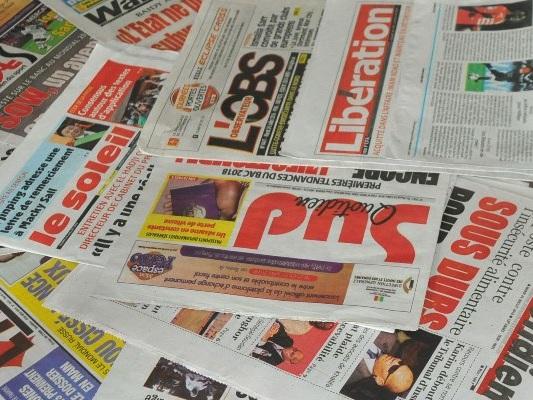 La presse sénégalaise à fond sur la politique et la justice