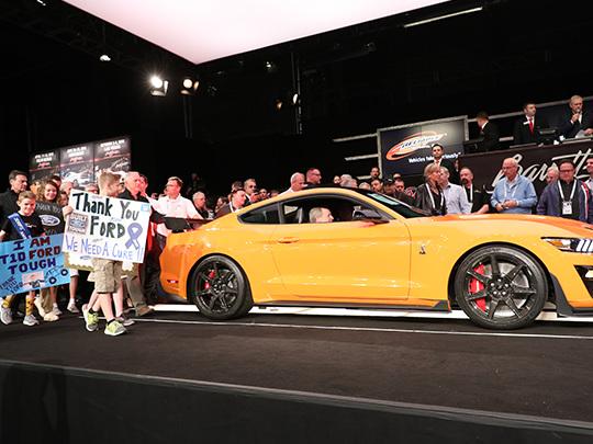Mustang Shelby GT500 : plus d'un million de dollars pour le premier exemplaire