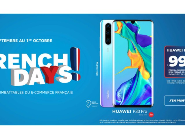 Smartphones et accessoires : les offres à ne pas manquer chez SFR pour les French Days
