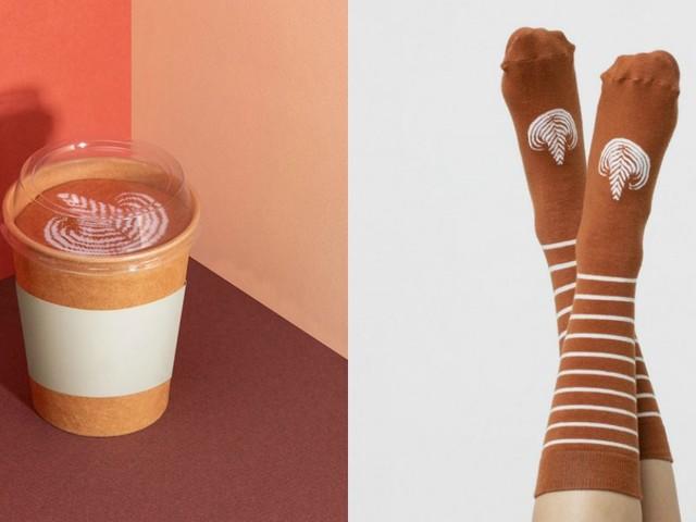 [TOPITRUC] Des chaussettes café latte, pour les accro à la caféine