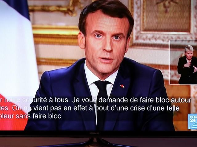 Coronavirus: l'allocution de Macron recelait plusieurs messages politiques