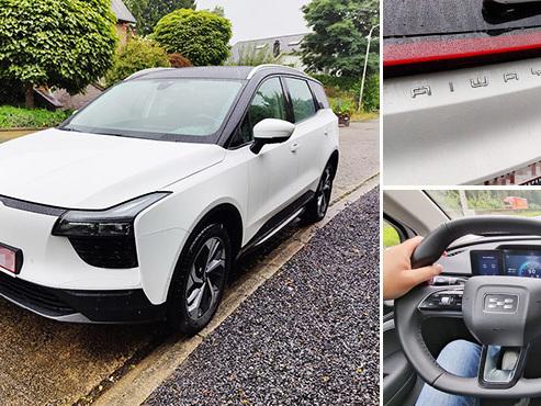 Les tests de Mathieu: Aiways U5, une voiture 100% électrique, 100% chinoise, 50% moins chère
