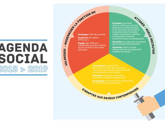 Agenda social 2018-2019 - Information