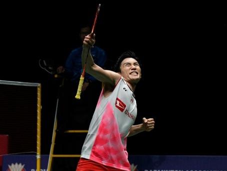 Badminton: Momota, blessé dans un accident, pourrait être indisponible deux mois