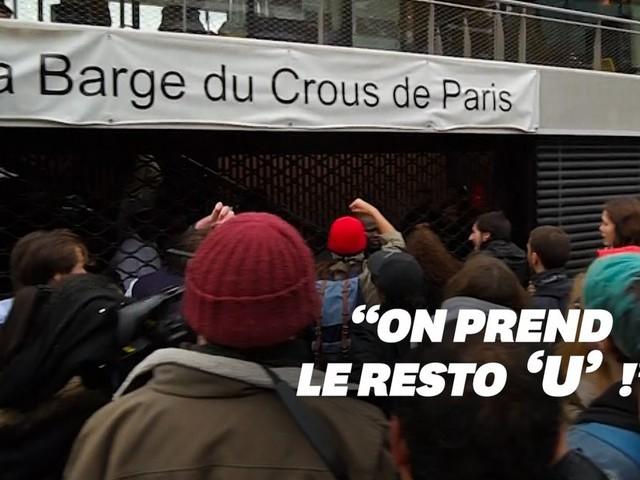 """Contre la précarité, des étudiants organisent des opérations """"RU gratuit"""""""