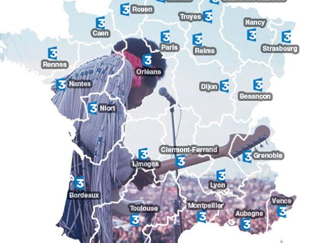Le réseau régional de France 3 fête la musique le 21 juin en live Facebook !