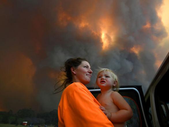 Les feux de forêt en Australie sont hors de contrôle
