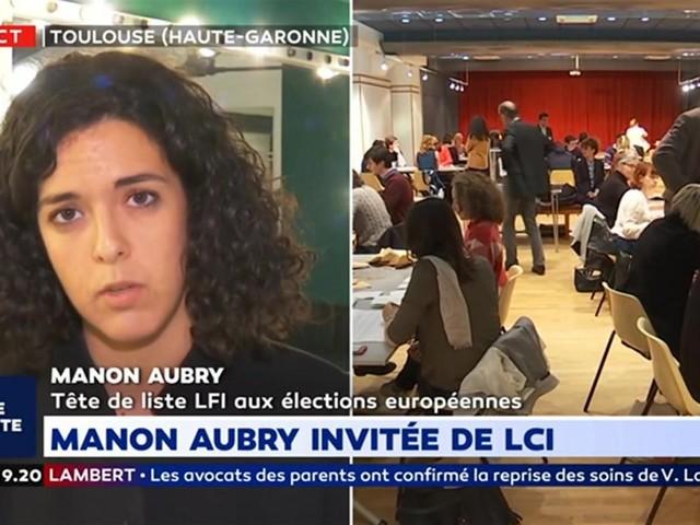 """Manon Aubry : """"Il y a un échec de la démocratie, notre responsabilité est de la réenchanter"""""""