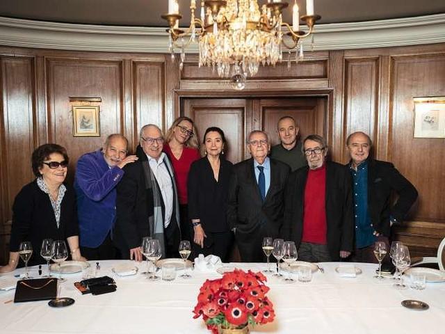 Au déjeuner de l'académie Goncourt, c'est peut-être un détail pour vous…