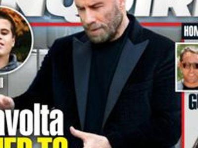 John Travolta, étrange rituel de Scientologie, son fils bientôt ressuscité (photo)