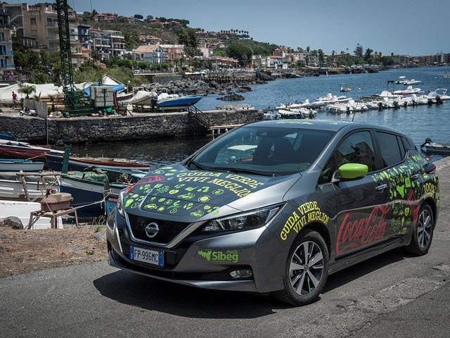 110 Nissan Leaf pour désaltérer la Sicile