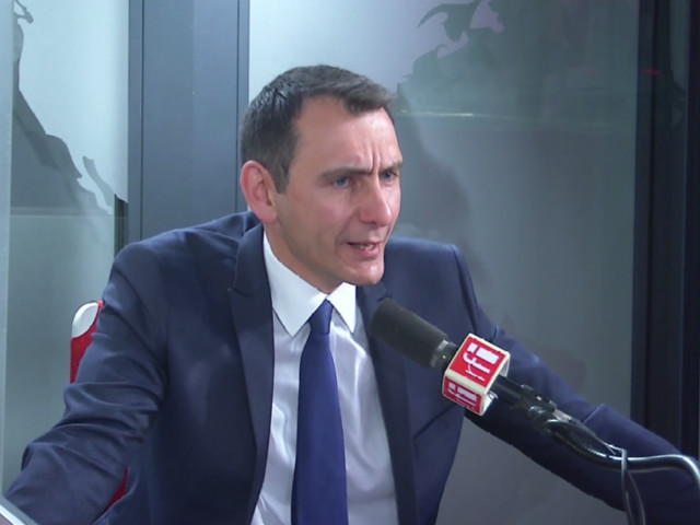 Laurent Jacobelli, porte-parole du Rassemblement national
