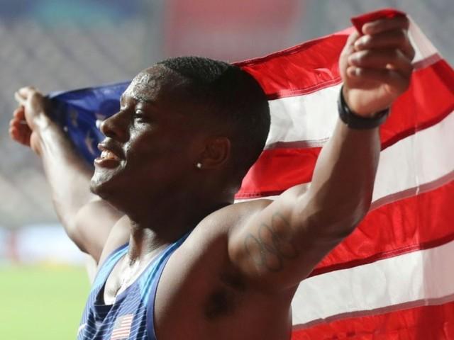 Athlétisme: l'Américain Coleman champion du monde du 100 m après avoir échappé à une sanction antidopage