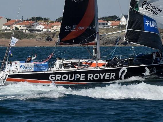 Voile - Solitaire du Figaro - Solitaire du Figaro : Anthony Marchand domine la troisième étape
