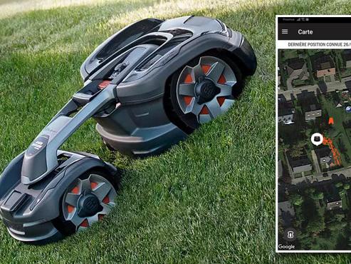 Les tests de Mathieu: ce robot-tondeuse grimpe des pentes de 70% et peut se commander… par la voix (vidéo)