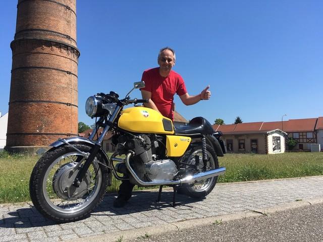 La moto classique de la semaine : Laverda 750 SF