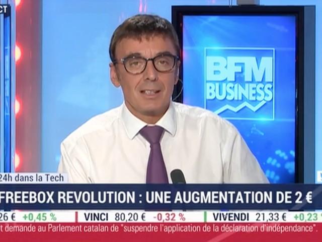 Quand BFM Business annonce une augmentation de 2€du forfait Freebox Révolution… à tort